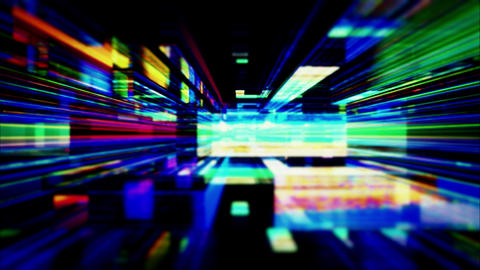 A maze of high energy light streaks - Video Background 1300 HD, 4K Animation