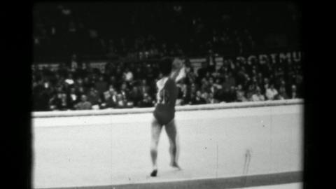 1966: Keiko Tanaka-Ikeda Japan women's floor exercise 16th Artistic Gymnastics W Footage