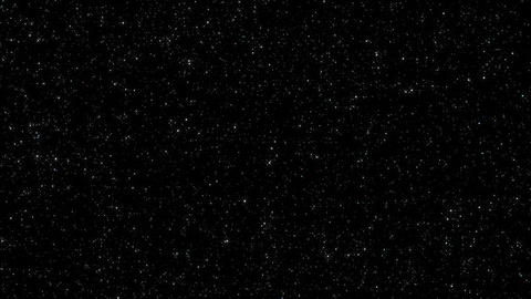 4K Loopable: Spinning 3D Star Field Footage