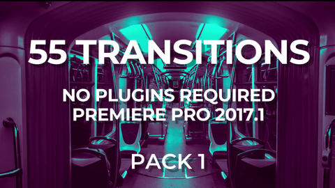 Transitions Pack 1 Premiere Pro Template