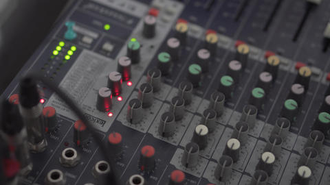 Mixer Music Footage