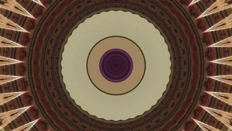 Beautifully changing drawings in kaleidoscope Footage