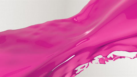 Pink Liquid flow Background Animation