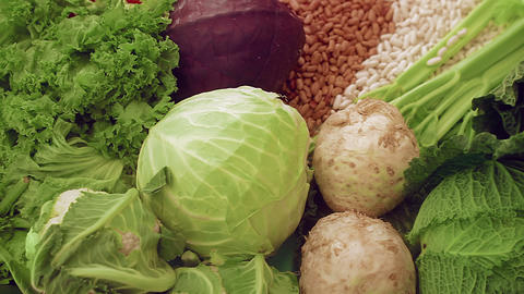 Vegetables Stock Video Footage