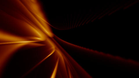 Looping Abstract Animated Background - Orange Stock Video Footage