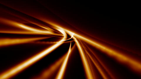 Looping Abstract Animated Background - Orange CG動画