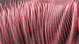 Vertical fibers abstract background Stock Video Footage