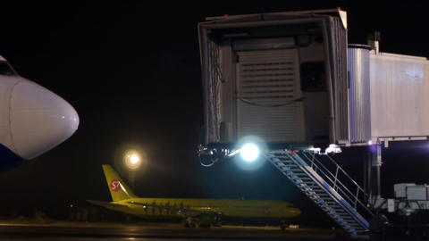 Airport sequence Stock Video Footage