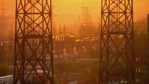 Power substation Footage
