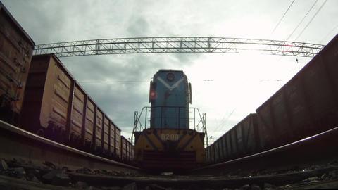 Under locomotive Footage