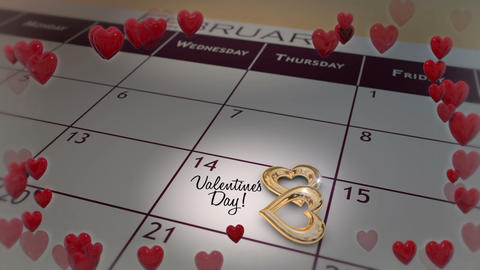 Valentines Day 01 stock footage