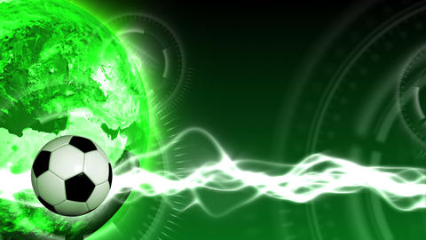 Soccer World Background 44 (HD) Stock Video Footage