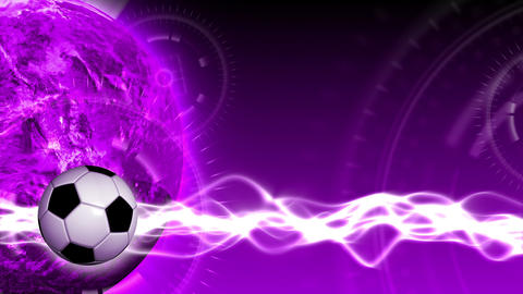 Soccer World Background 48 (HD) Stock Video Footage