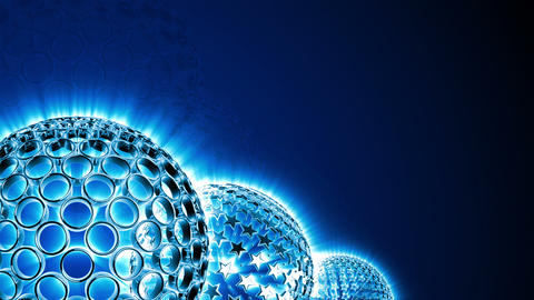 Spherical Elements Background 03 (HD) Animation