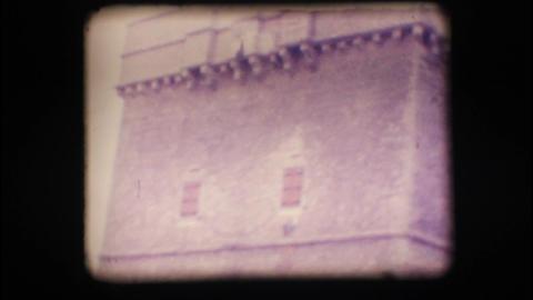 Vintage 8mm. Coastal watchtower Footage