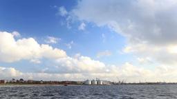 Baltic sea in Liepaja, Latvia Footage
