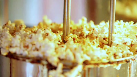 Popcorn making Stock Video Footage