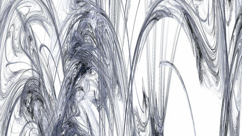 Grey Abstract Stalactites Moving Animation