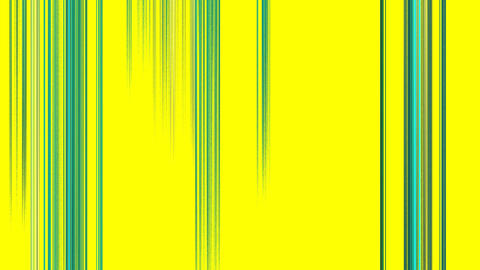 Vertical Green Lines on Yellow Stock Video Footage