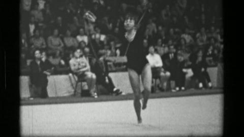 1967: Athlete #33 jump rope competition 3rd Women's Modern Rhythmic Gymnastics W Live Action