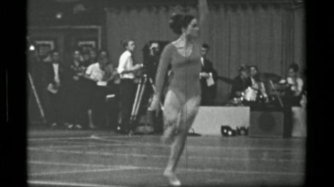 1967: Athlete #35 (part 1 of 2) freehand competition 3rd Women's Modern Rhythmic Live Action