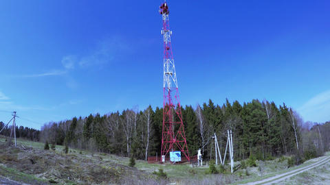 Retransmission cell tower Live Action