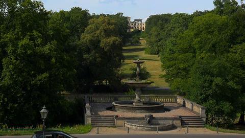 Park Lustgarten. Potsdam, Germany Footage