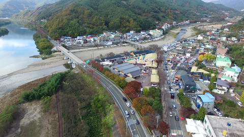Namdodaegyo and Whagae Traditional Market, Hadong, Gyeongsangnamdo, South Korea, Live Action