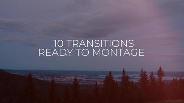 Light Transitions Premiere Pro Template
