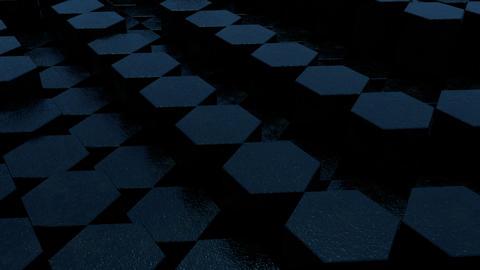 Black hex loop 5 GIF