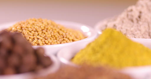Aromatic spices, Still Life background Live Action