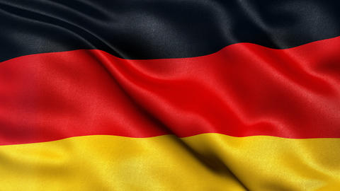 Germany Flag Seamless Loop Animation