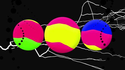 Virus Dance 4K 02 Vj Loop Animation