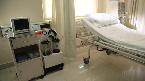 Hospital Equipment in ICU Live Action
