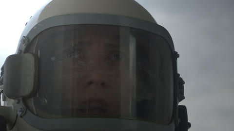 Suffocating Astronaut Footage