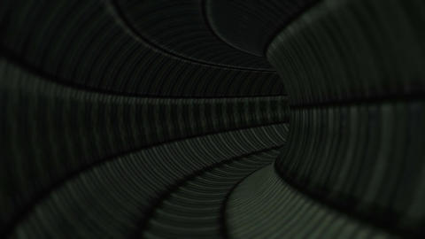 Fantastic Dark Apocalyptic Tunnel Seamless Looping…, Stock Animation