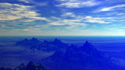 CG Sky image Animation