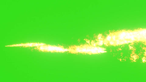 Flame Thrower HD Animation