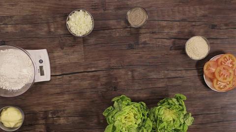 Beef Burger Ingredients - Timelapse - Top 1 Live Action