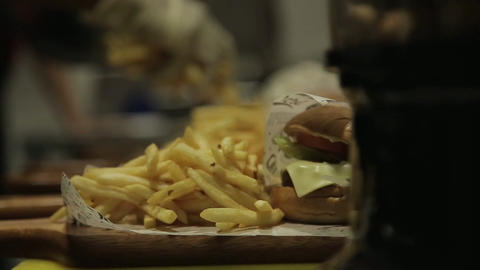 French Fries - Putting French Fries Next To Burgers -…, Live Action