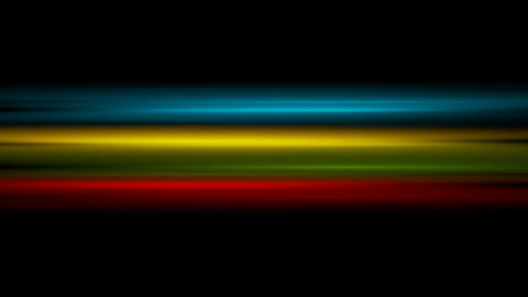 Colorful glowing stripes video animation Animation