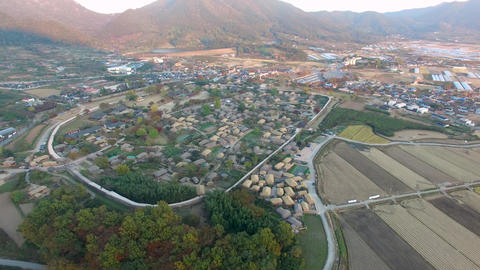Nakan Eupseong Fortless Traditional Village, Suncheon, Jeollanamdo, South Korea, Live Action