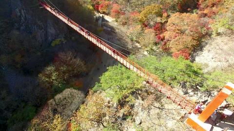 Autumn of Gancheonsan Mountain, Sunchang, Jeollanamdo, South Korea, Asia Footage