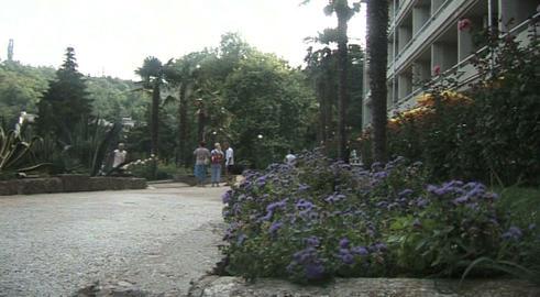 Hotel outdoor Footage