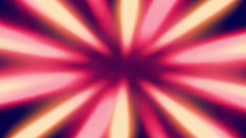 Shiny Sunburst Rays Of Yellow And Pink Light Loop Backgorund Animation