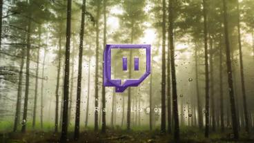 Rain Logo After Effects Template