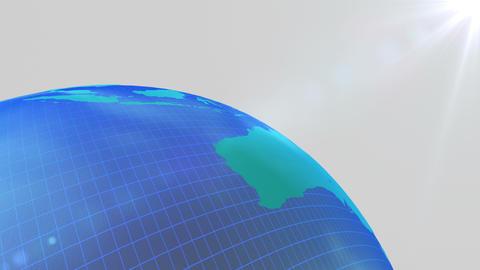 Earth CG 18 B4bw 4k CG動画