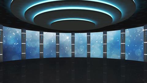 Entertainment TV Studio Set 42-Virtual Background Loop Live Action