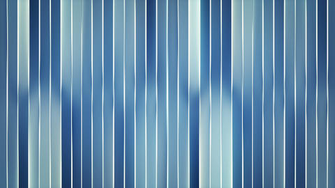 Glowing blue vertical bars loopable abstract 3D animation Animation