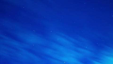 Starry sky time lapse at night Footage